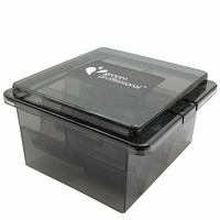 Groom Professional Acrylic Blade Box up to 8 Blades