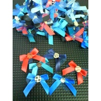 Groomers Bows Deluxe Boy 50 pack