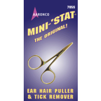 Aaronco Mini-Stat Non-Locking Hemostat (Hair Puller) 3.5 inch