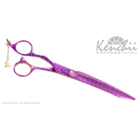 Kenchii Pink Poodle LEFT 8inch Straight Scissor