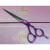 Madan Straight 6.5inch Purple Aluminium Handled Shear
