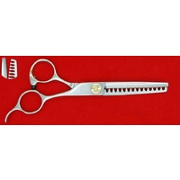 P&W Alpha & Omega 6in 13 Tooth Thinning Scissors