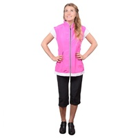 Retro Hot Pink Cap Sleeve Smock