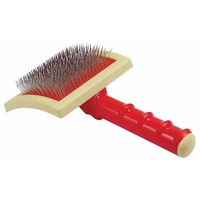 Oscar Frank Original Round Handle Slicker Brush