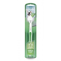 Tropicleans Fresh Breath Tripleflex Toothbrush Large
