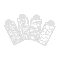 Opawz Animal Print Washable Stencil Set 4