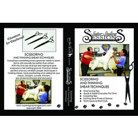SSS Hand Scissoring & Thinning Techniques  DVD