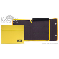 Kenchii YELLOW Faux Leather 10 Scissor Case