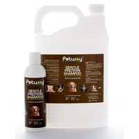 Petway Gentle Protein Shampoo with Aloe Vera and Baking Soda